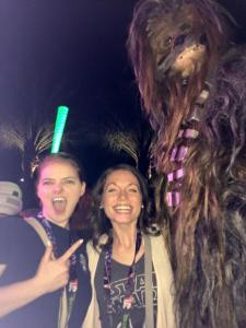 Did I mention the rave with Chewbacca?